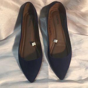 Dark Blue Flats